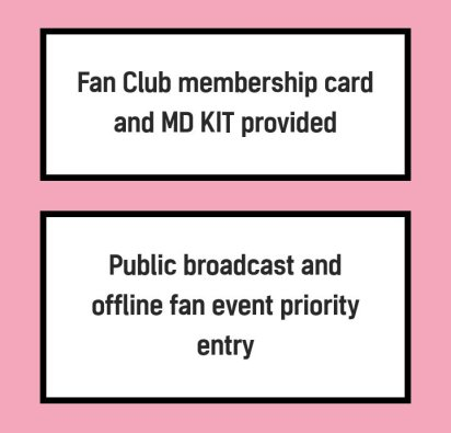 BLACKPINK Official BLINK Korean Fan Club Membership Benefit 2