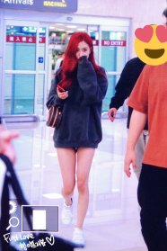 BLACKPINK Rose airport fashion 4 july 2018 photo 3