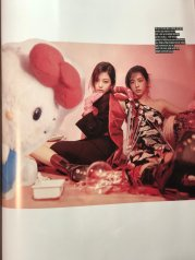 BLACKPINK UPDATE Scan Magazine BLACKPINK Vogue Korea August 2018 Issue Jennie Jisoo