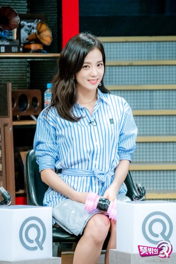 blackpink jisoo mbc unexpected q behind the scenes 13