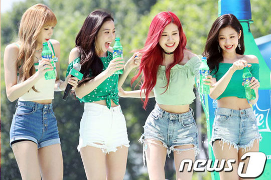 Blackpink at sprite waterbomb festival 2018 see photos and videos stopboris Images