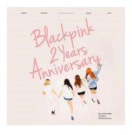BLACKPINK 2 anniversary poster Instagram 1