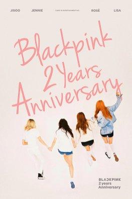BLACKPINK 2 anniversary poster twitter 2