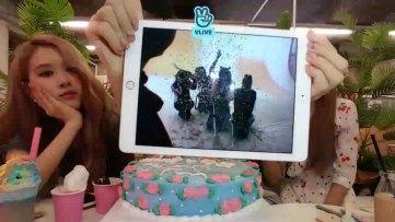 BLACKPINK 2nd Anniversary surprise vlive 4