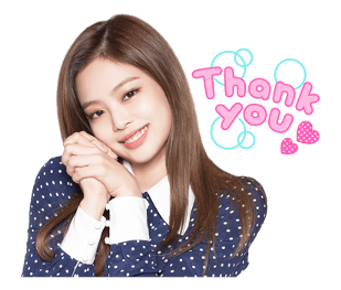 BLACKPINK Jennie LINE Sticker 2018 Photo 2