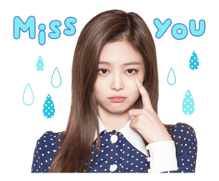 BLACKPINK Jennie LINE Sticker 2018 Photo 8