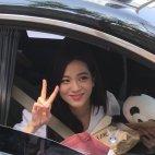 BLACKPINK Jisoo Car Photos Inkigayo 5 August 2018 good bye stage 14