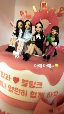 BLACKPINK Jisoo Instagram Story 9 August 2018 fans gift 4