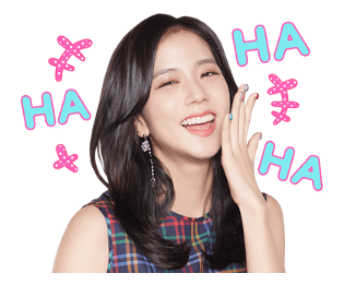BLACKPINK Jisoo LINE Sticker 2018 Photo 2