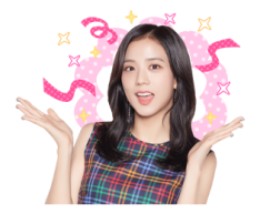 BLACKPINK Jisoo LINE Sticker 2018 Photo 6