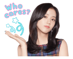 BLACKPINK Jisoo LINE Sticker 2018 Photo 8