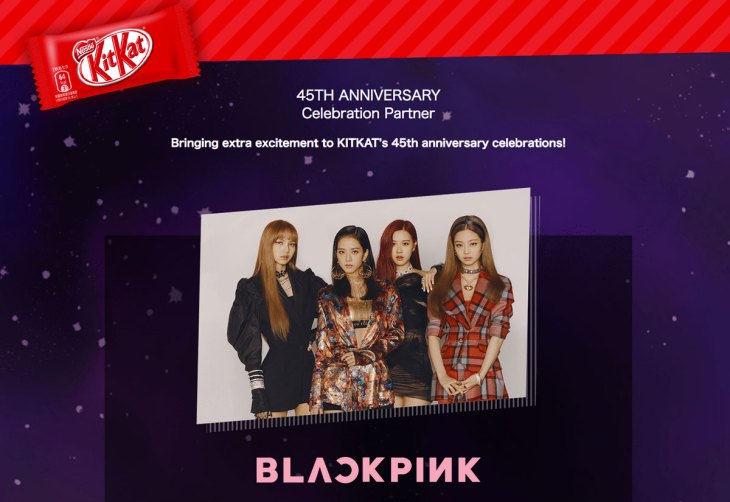 BLACKPINK-KITKAT-45-Anniversary-Celebration