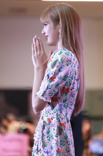 BLACKPINK LISA moonshot central world fansign event bangkok thailand 58