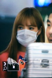 BLACKPINK Lisa Airport Photo 18 August 2018 Incheon 13