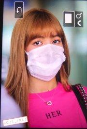 BLACKPINK Lisa Airport Photo 18 August 2018 Incheon 15