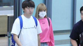 BLACKPINK Lisa Airport Photo 18 August 2018 Incheon 9