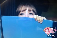 BLACKPINK Lisa Car Photos MBC Music Core 4 August 2018-2