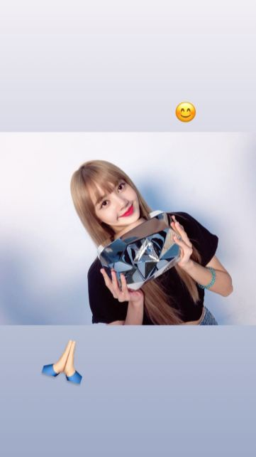 BLACKPINK Lisa Instagram Story 23 August 2018 lalalalisa m