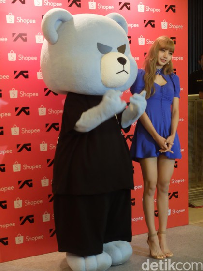 BLACKPINK Lisa meet and greet Jakarta Indonesia krunk 2