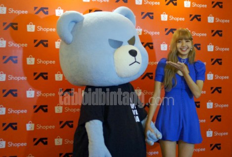 BLACKPINK Lisa meet and greet Jakarta Indonesia krunk 4