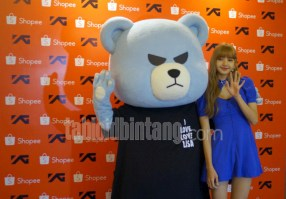 BLACKPINK Lisa meet and greet Jakarta Indonesia krunk 5