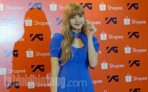 BLACKPINK Lisa meet and greet Jakarta Indonesia press 11