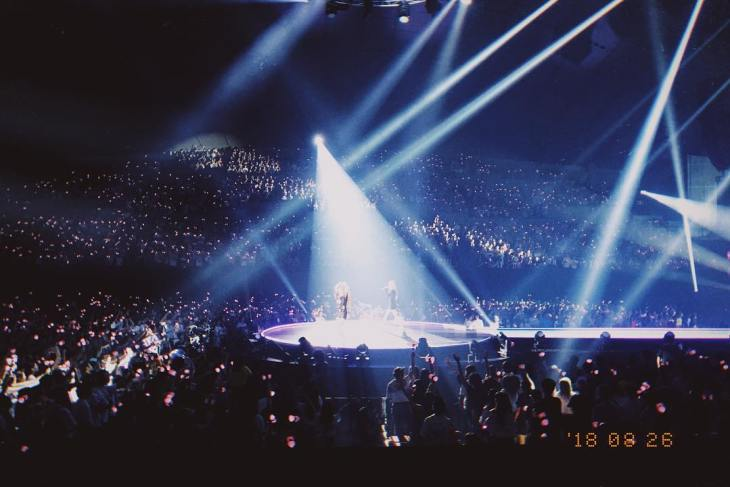 BLACKPINK-Rose-Instagram-Photo-28-August-2018-Japan-Arena-Tour-2