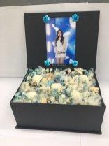 BLACKPINK Rose comeback support rose fan union lunchbox flower candies 16