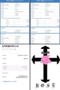 BLACKPINK Rose comeback support rose fan union lunchbox flower candies 24