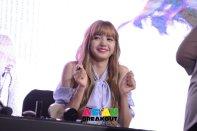 Day 1 BLACKPINK Lisa moonshot fansign event Bangkok Thailand 124
