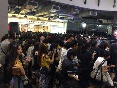 Day 1 BLACKPINK Lisa moonshot fansign event Bangkok Thailand 170