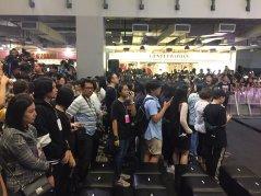 Day 1 BLACKPINK Lisa moonshot fansign event Bangkok Thailand 173