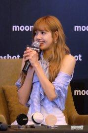 Day 1 BLACKPINK Lisa moonshot fansign event Bangkok Thailand 63