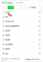 blackpink jennie trending naver running man 413 august 2018-3
