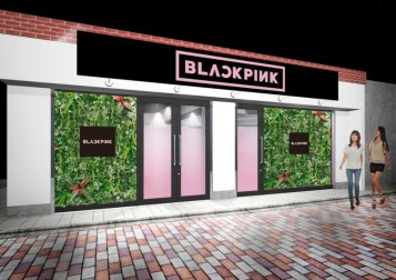 blackpink pop up store square up japanese version