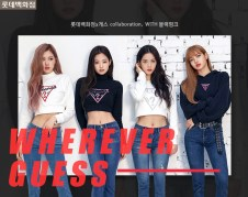 1-BLACKPINK GUESS Lotte Malls Photo