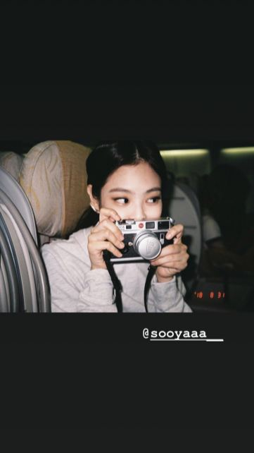 1-BLACKPINK Jennie Instagram Story 18 September 2018