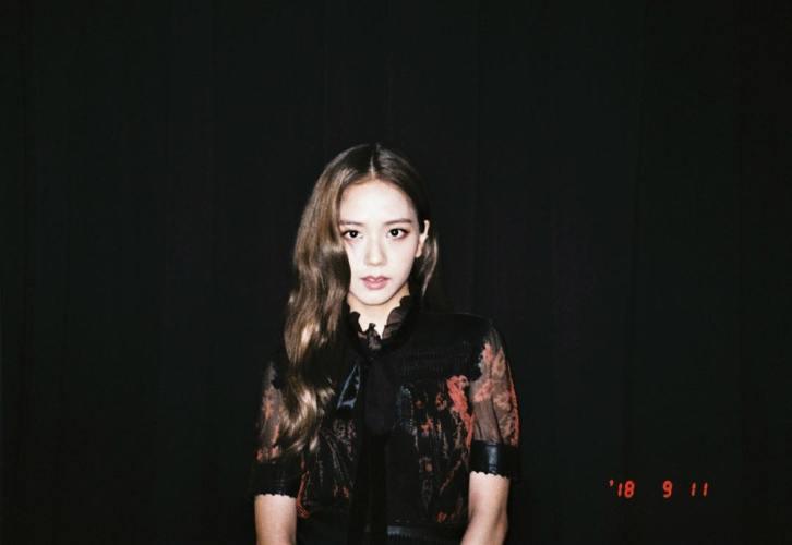 1-BLACKPINK Jisoo Instagram Photo 27 September 2018 Rose Chaesoo