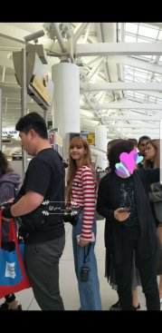 1-BLACKPINK Jisoo Rose Lisa JFK Airport NYC Back To Seoul 12 September 2018