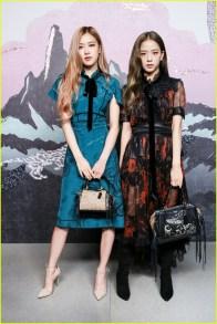 11-BLACKPINK Jisoo Rose COACH New York Fashion Week 2018