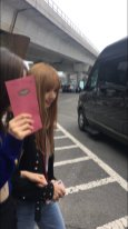 11-BLACKPINK Jisoo Rose Lisa JFK Airport Photo New York City