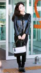 13-BLACKPINK Jennie Airport Photos Incheon to France Paris Fashion Week