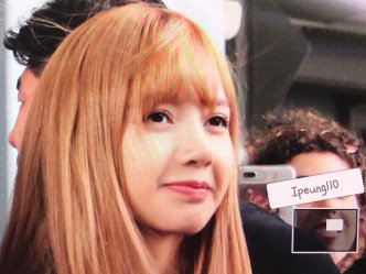 14-BLACKPINK Lisa JFK Airport Photo New York City