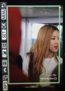 14-BLACKPINK Rose JFK Airport Photo New York City