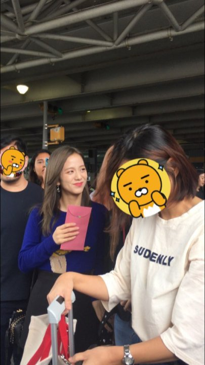16-BLACKPINK Jisoo JFK Airport Photo New York City