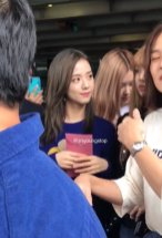 18-BLACKPINK Jisoo JFK Airport Photo New York City