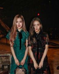 19-BLACKPINK Jisoo Rose COACH New York Fashion Week 2018
