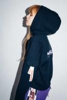 19-BLACKPINK Lisa X-girl Japan Nonagon Collaboration
