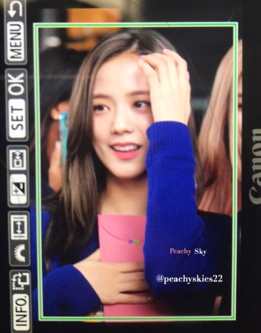 20-BLACKPINK Jisoo JFK Airport Photo New York City