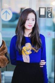 25-BLACKPINK Jisoo Airport Photo Incheon New York Fashion Week